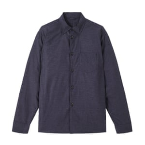 Navy jacket, £165, by Jigsaw, from johnlewis.com.