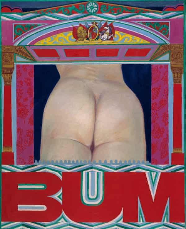 BUM, 1966 by Pauline Boty.