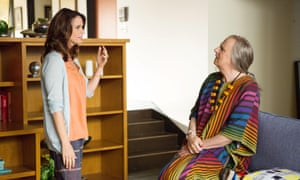 Amy Landecker and Jeffrey Tambor in Transparent.