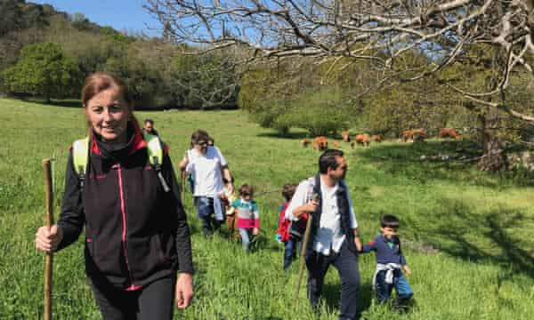 Ana Lavin, a rancher in Cantabria, will be teaching at the school.