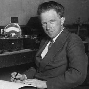 Werner Karl Heisenberg: developed the uncertainty principle.