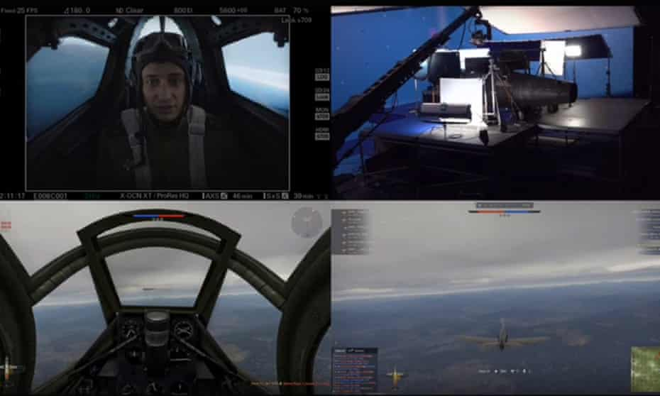 Flying ace … actor Pavel Priluchny battles gamers for V2: Escape from Hell.