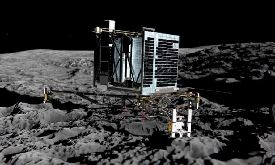 Artist's impression of the Philae lander, which touched down on comet 67P in November 2014.