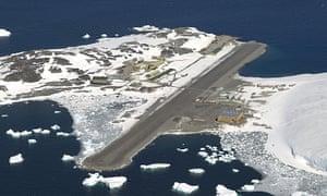 The British Antarctic Survey station at Rothera