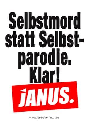 Janus flyer, 2014