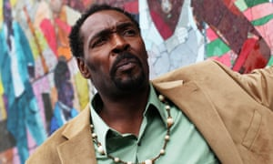 Rodney King poses for a portrait after a book signing for The Riot Within: My Journey from Rebellion to Redemption in New York in 2012.