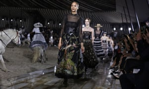 de31730b3 Dior gallops back into the spotlight with a Mexican rodeo | Fashion ...