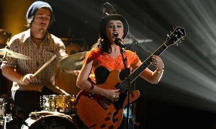 Musicians Perrin Moss and Nai Palm of Hiatus Kaiyote