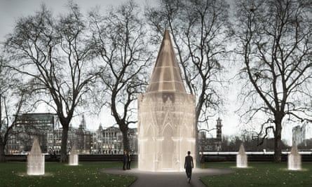 Rachel Whiteread and Caruso St John's submission, the only one that 'speaks to the British experience of the Holocaust'