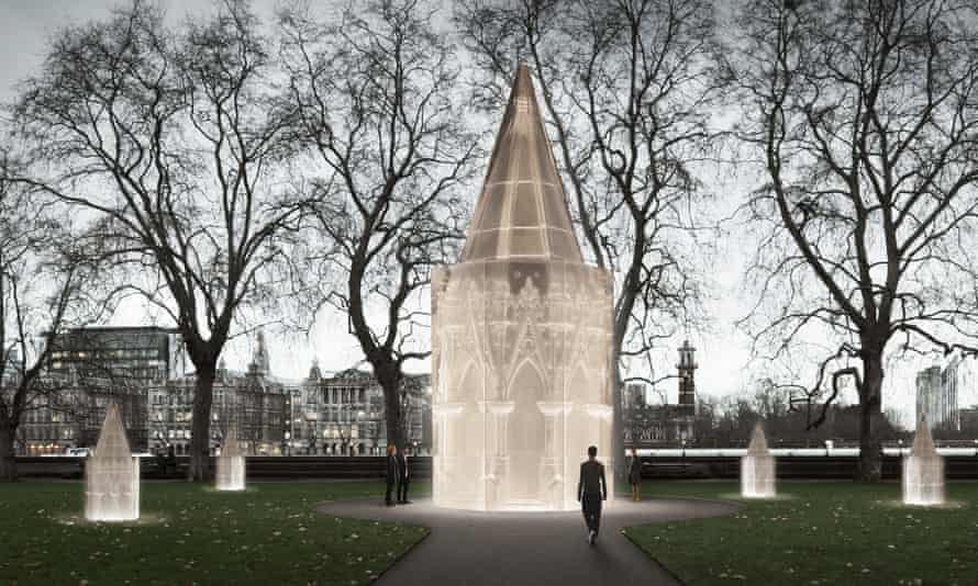Finding peace: Whiteread's proposal for the Holocaust memorial in London.