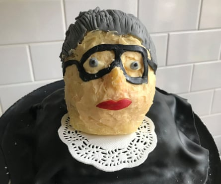 Guilty as charged: Ruth Bader Ginsburg in cake form