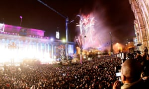 The opening of Liverpool's reign as European capital of culture in 2008.