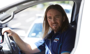 Tim Minchin in ABC TV's comedy series Squinters