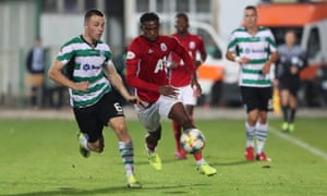 Viv Solomon-Otabor in action for CSKA Sofia. 'The hardest part is that I am alone,' the former Birmingham City player says.