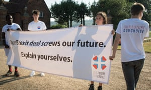 A no-deal Brexit could cost young people as much as £108,000 in lost earnings by 2050 (more than £3,000 a year).
