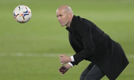Zidane has shaky grip on Real Madrid job as he enters decisive week   Sid Lowe