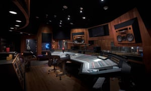 The Paisley Park studio where Prince recorded many of his hits.