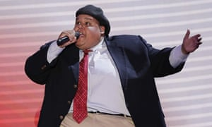 Neal Boyd sings during the Republican National Convention in 2012.