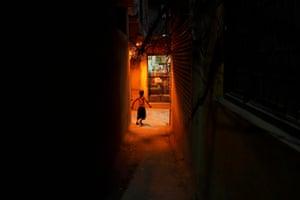 Street scene, Kathmandu.
