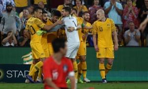 5faa88a94 Australia 1-1 South Korea  international football friendly – as it happened