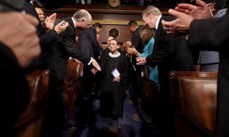 'Like Thurgood Marshall before her, Ginsburg was one of the few justices who came into the role following a career devoted to advocating and litigating for equity, justice, and inclusion.'