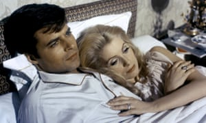 French obsession … Jean Sorel and Catherine Deneuve in Belle de Jour (1967).