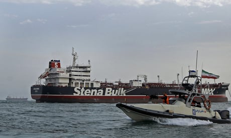 UK-flagged tanker seized by Iran released and heading for Dubai