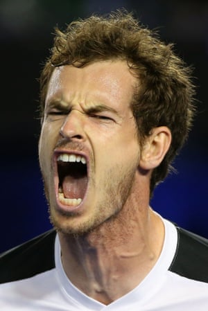 Andy Murray roars