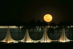 A full moon in Brazil