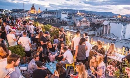 360 Bar, Budapest, Hungary