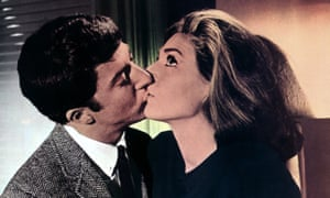 Irresistibly watchable … Dustin Hoffman and Anne Bancroft in The Graduate.