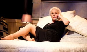 Sharon Gless as Jane Juska, on stage at the Aldwych Theatre in London in 2011.