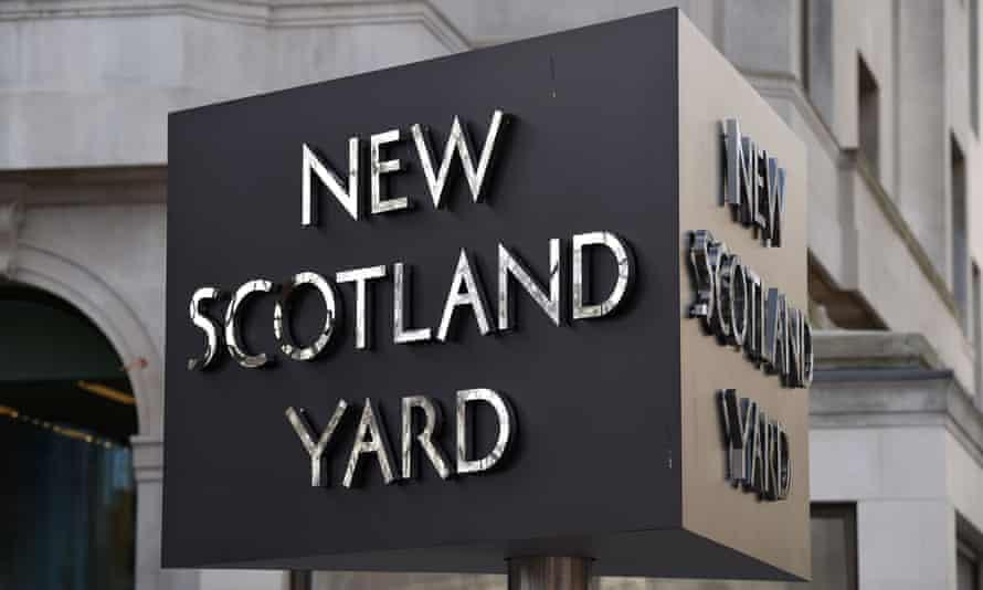 Scotland Yard signage