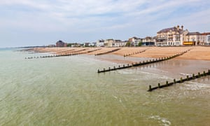View from the Pier at Bognor Regis West Sussex