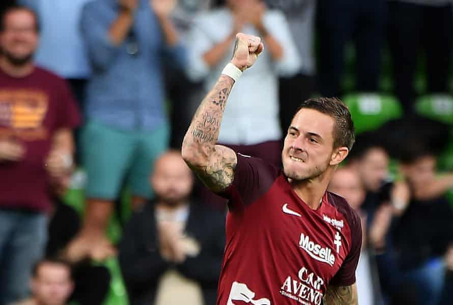 Nolan Roux is already off the mark, scoring against Guingamp on the opening day of the season, but Metz might still have a tough campaign