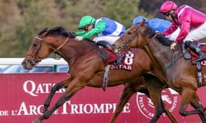 One Master wins the Prix de la Foret at Longchamp.