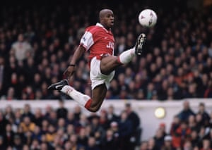 Ian Wright went on to become Arsenal's all‑time top scorer with 185 goals in 288 games after joining from Crystal Palace in 1991.