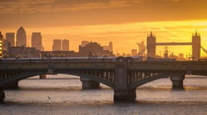 Many cities, like London, were built on rivers – or near sea ports.