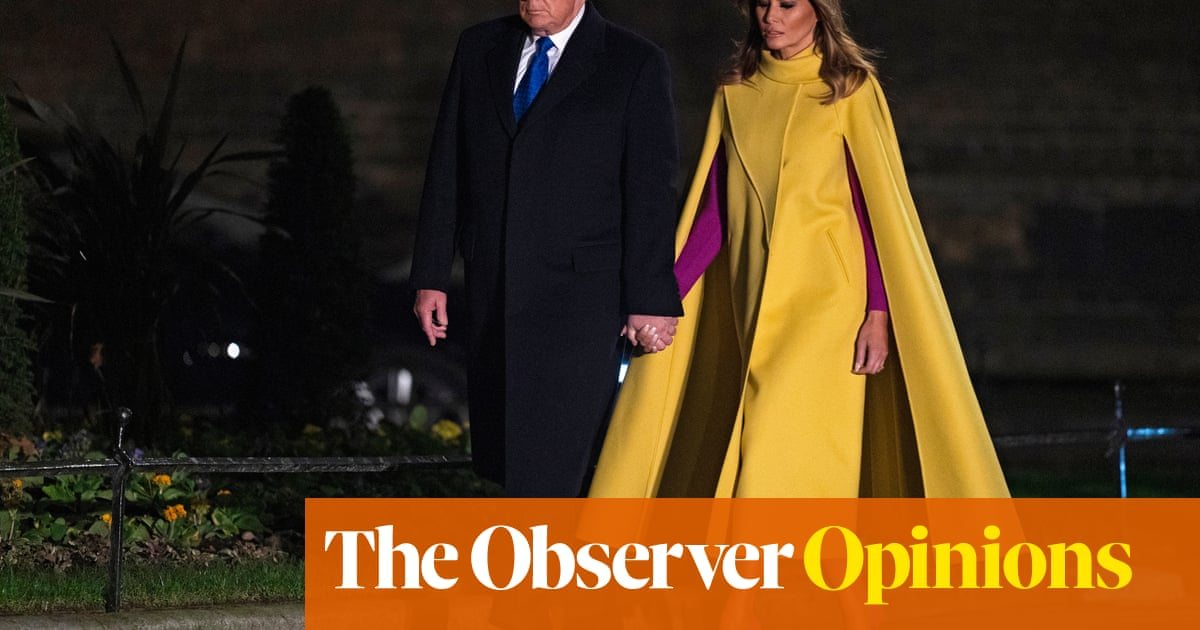 Melania Trump is no caped crusader for women's rights. She's still Donald's fig leaf | Catherine Bennett