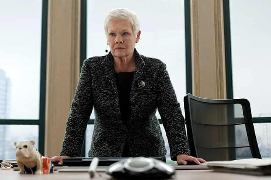 Judi Dench as M in Skyfall (2012)