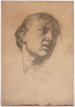 Study for 'Lot's wife' (1886), by John Russell