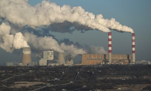 Belchatow power station in Rogowiec, Poland
