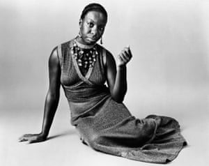 Nina Simone in 1968: 'I could endlessly watch live videos of her performing'