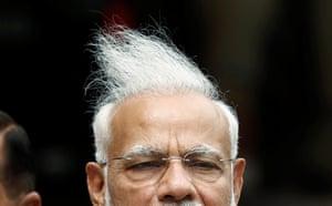 Prime minister Narendra Modi in New Delhi, India