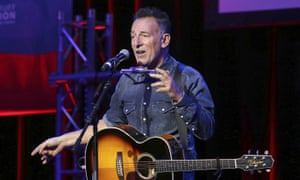 Bruce Springsteen, who used Ticketmaster's 'verified fan' system for his one-man Broadway show.