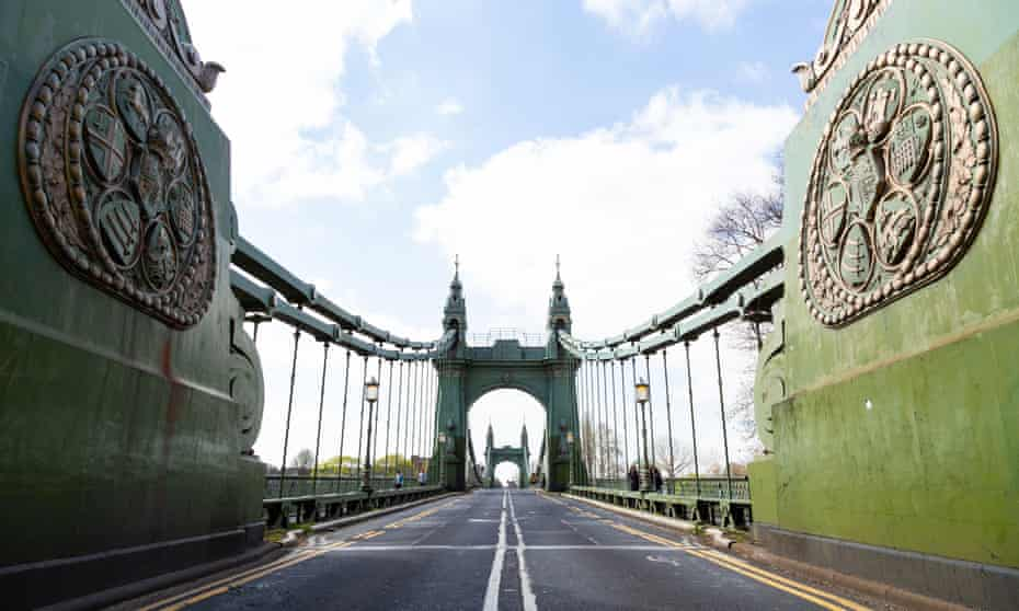 Hammersmith Bridge has been closed to traffic since April 2019.
