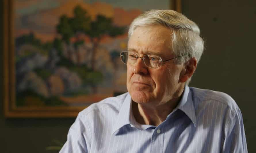 Charles Koch in 2007.