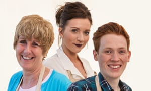 The final three bakers Jane Beedle, Candice Brown and Andrew Smyth.