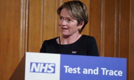 Executive Chair of NHS Test and Trace, Baroness Dido Harding