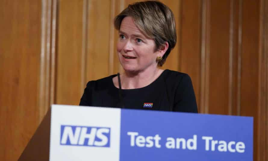 Lady Harding, chair of the NHS Test and Trace service, says the best way to contain more Covid-19 outbreaks by working with local authorities
